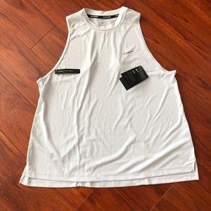 Nike Running Dri-Fit Barely Grey Standard Fit 1X